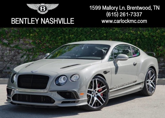 certified pre-owned 2017 bentley continental gt supersports 2d coupe