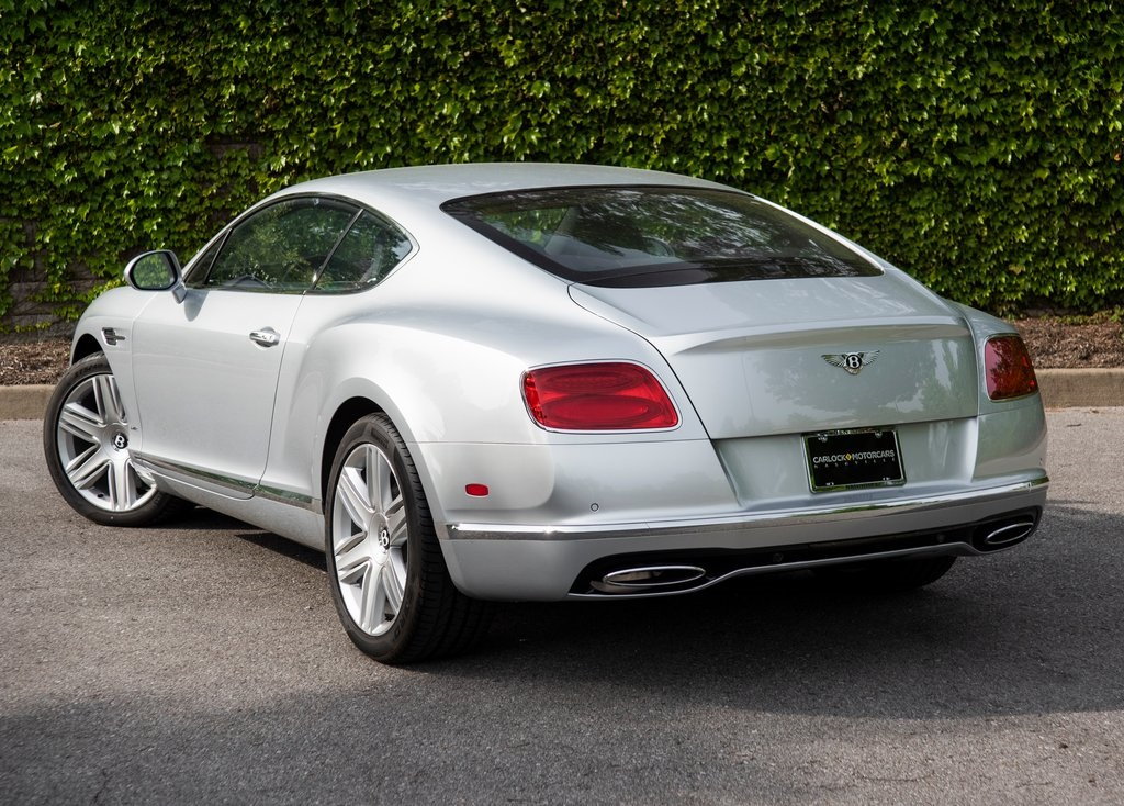 Pre-Owned 2017 Bentley Continental GT W12