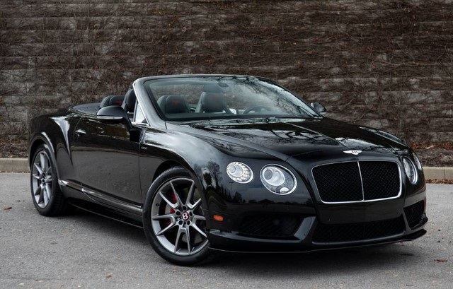 Pre-Owned 2015 Bentley Continental GTC V8 S