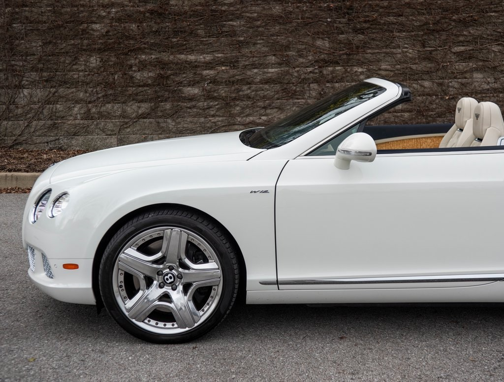 Certified Pre-Owned 2015 Bentley Continental GT Convertible W12