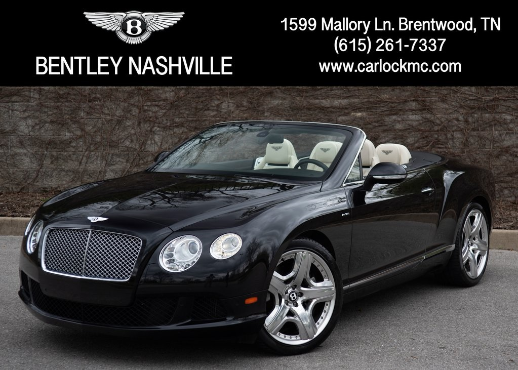 Pre-Owned 2014 Bentley Continental GTC