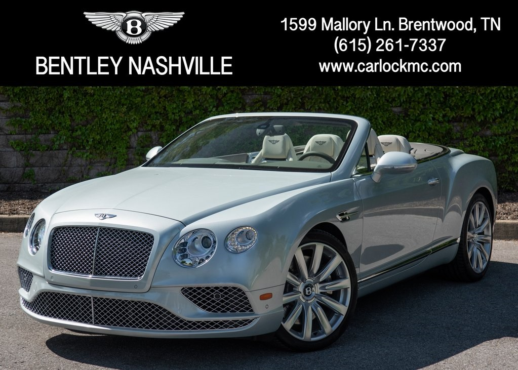 New 2018 Bentley Continental GTC W12