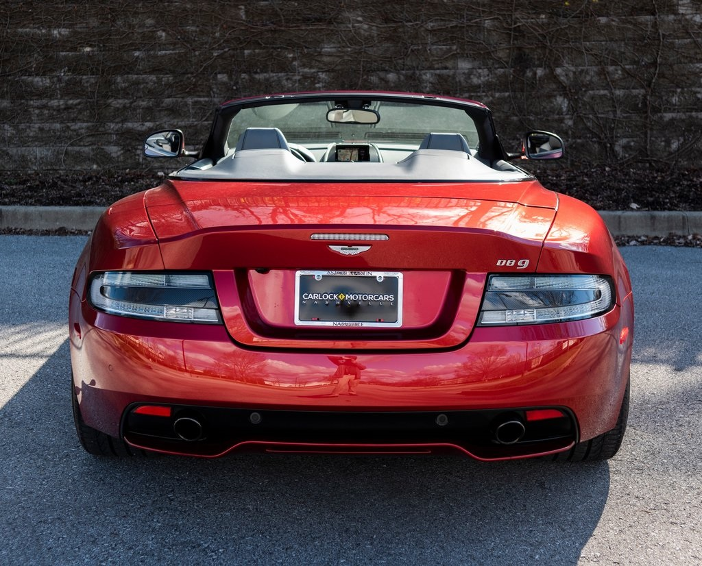 Certified Pre-Owned 2015 Aston Martin DB9 Volante