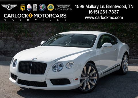 Certified Pre-Owned 2013 Bentley Continental GT V8