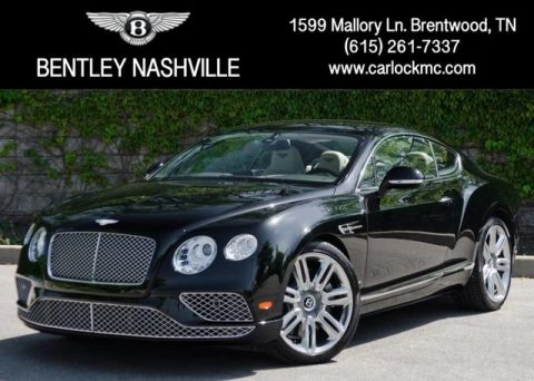 Pre-Owned 2017 Bentley Continental W12