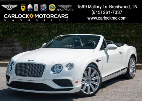 Certified Pre-Owned 2017 Bentley Continental GTC V8