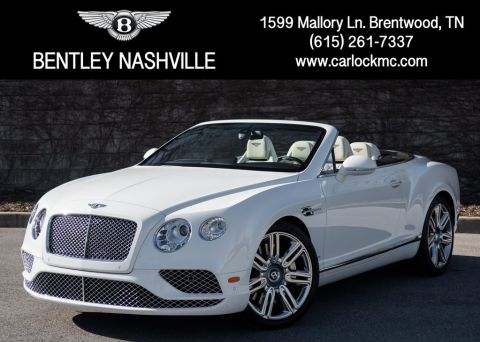 Certified Pre-Owned 2018 Bentley Continental GTC W12