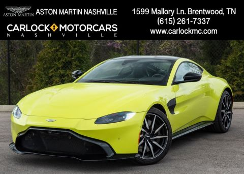 New 2019 Aston Martin Vantage Base