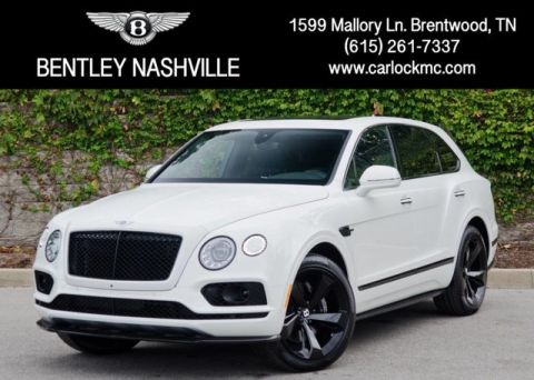 Pre-Owned 2018 Bentley Bentayga Black Edition